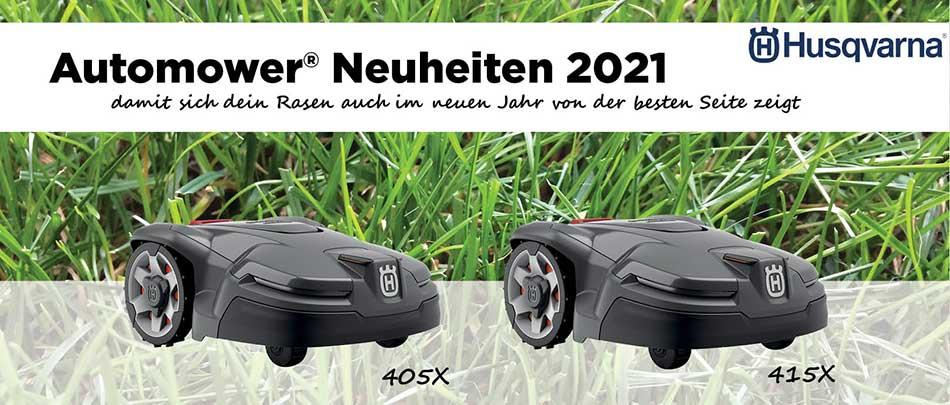 Vorschaubild Automower® Neuheiten 2021